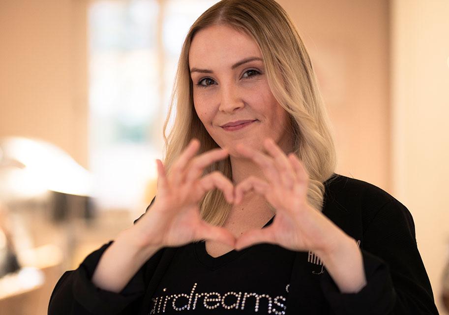 Kim Becker - Deine Friseurin in Wittlich bei Haarstudio Haarmonie