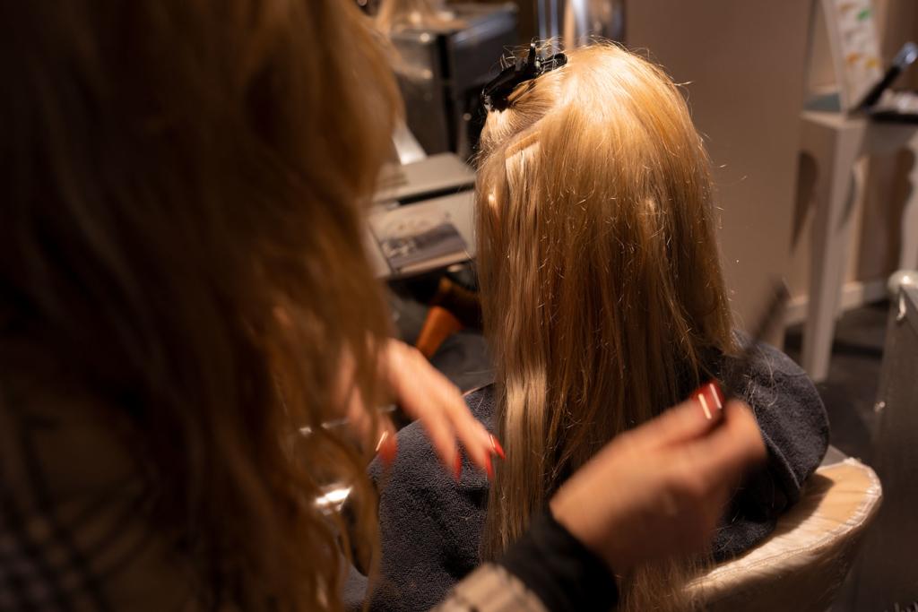 Haarverlängerungen bei Haarstudio Haarmonie in Wittlich